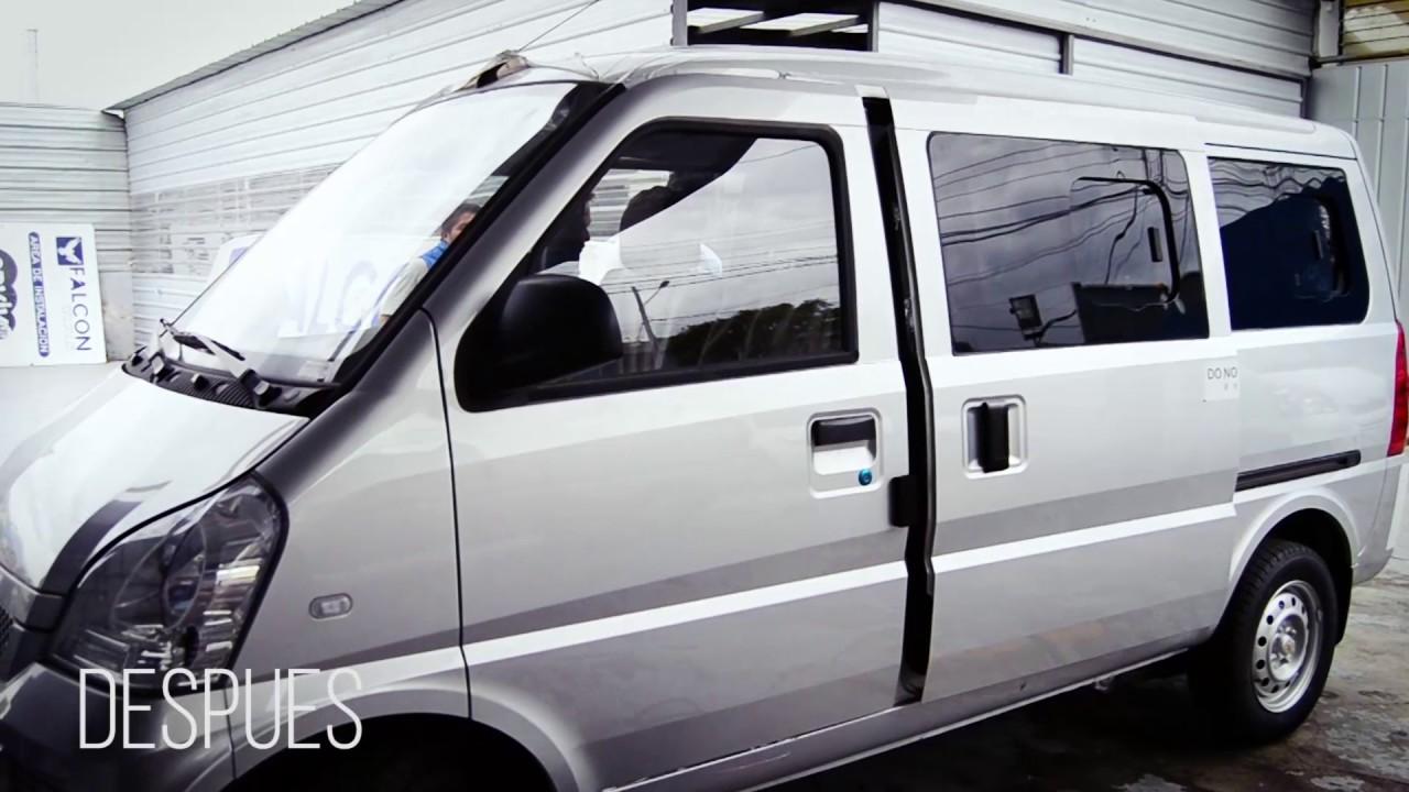 Modificacion De Ventanas Y Asientos En Furgoneta Chevrolet Youtube