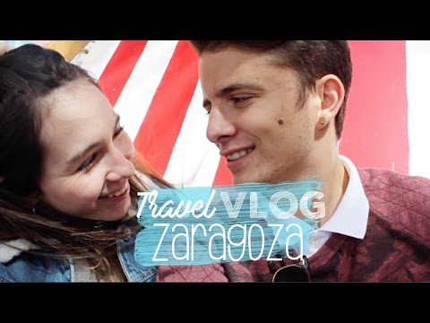 TRAVEL VLOG: ZARAGOZA, Spain | Paula Colino