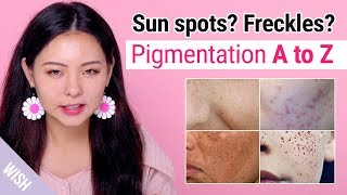 Freckles? Sun Spots? Pigmentation Meaning and How to Prevent & Fade Them | Wishtrend