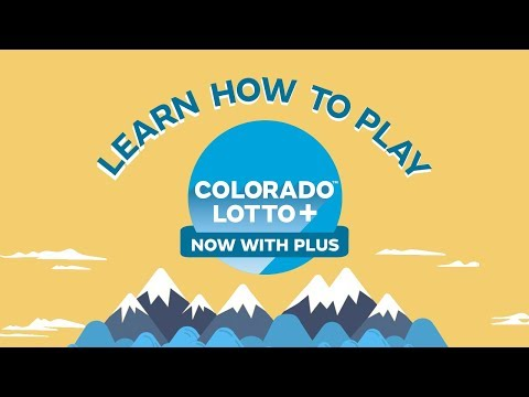 Colorado Lotto+  How To Play