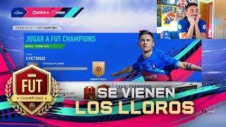 MADRE MÍA MI PRIMER FUT CHAMPIONS !!! FIFA 19
