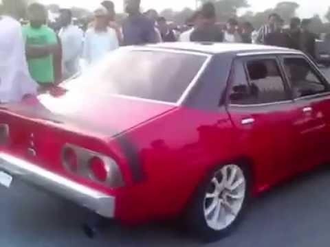 Modified Cars Racing In Pakistan Karachi Youtube