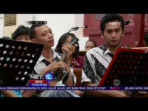 Ibadah Natal Diiringi Musik Keroncong - NET 12