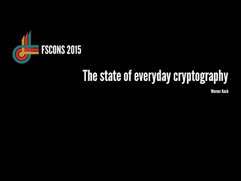 The state of everyday cryptography