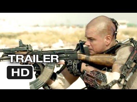 Elysium TRAILER 3 (2013) - Matt Damon, Jodie Foster Sci-Fi Movie HD