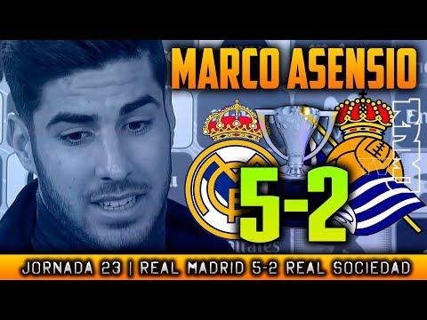 MARCO ASENSIO post Real Madrid 5-2 Real Sociedad (10/02/2018) | LIGA JORNADA 23
