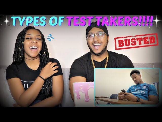 "Tpindell ""TYPES OF TEST TAKERS"" REACTION!!!"