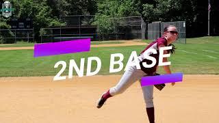 Emily Strez NCAA Softball Skills Video Class of 2022 2nd Base Outfield