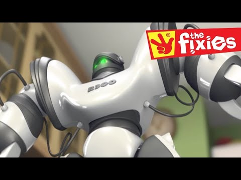 The Robot and Friction | The Fixies | Cartoons for Kids | WildBrain Kids TV Full Episodes