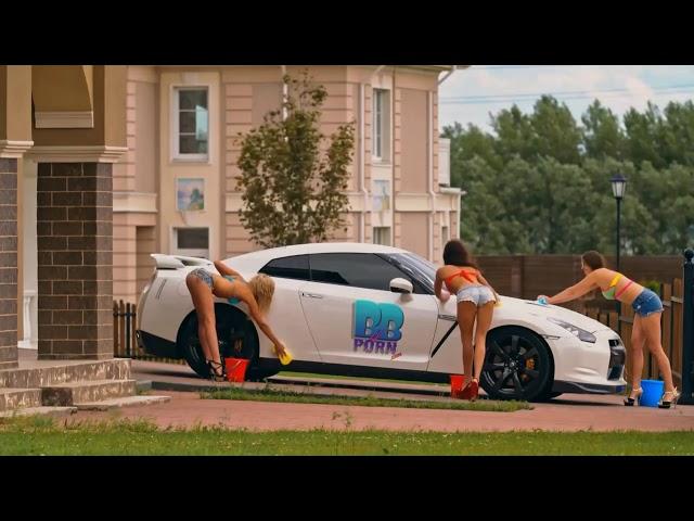BofB Hot Girls Doing A Car Wash On A Lamborghini