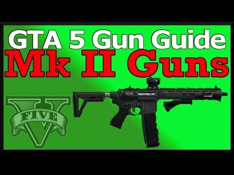 GTA Online Gunrunning - Mk II Weapons Customization & Upgrades - YouTube