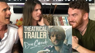 DEAR COMRADE | Vijay Deverakonda | Trailer REACTION!