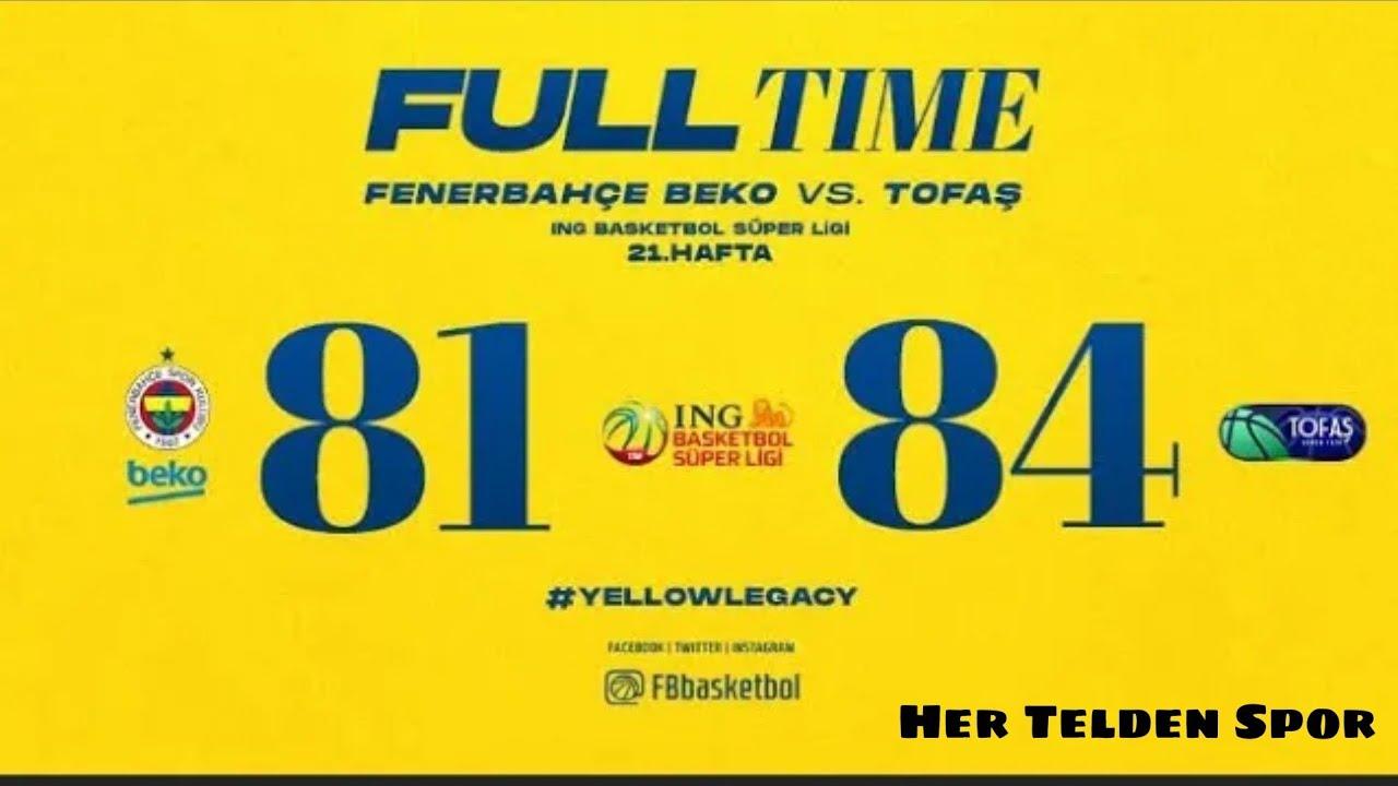 Fenerbahçe Beko 81 - 84 Tofaş Özet - YouTube