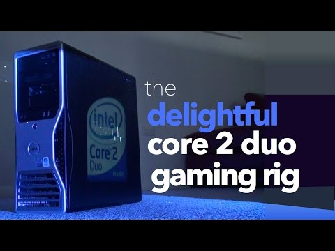 The Delightful Core 2 Duo Gaming Rig