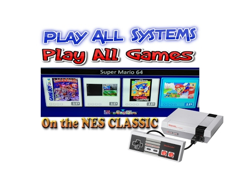 How To MOD The NES Classic To Play All Games For All Systems With Menu (SNES, Gameboy, N64 Etc)