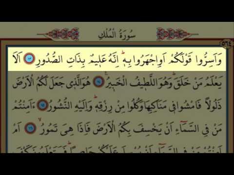 Surah Al-Mulk(67) by Nasser Al Qatami Majestic Recitation(Mülk)