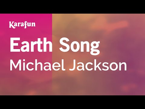 Karaoke Earth Song - Michael Jackson *