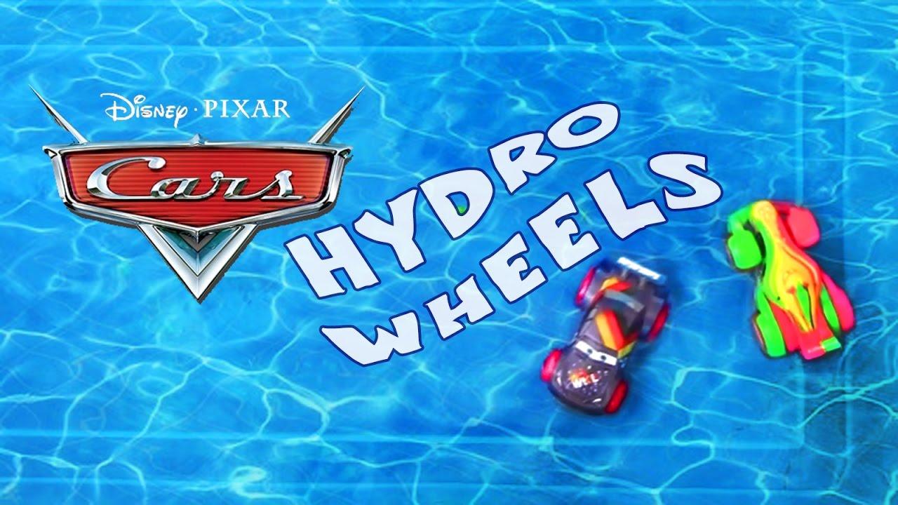 Disney Cars Hydro Wheels! Water Toys Bath Racers - YouTube