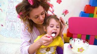 إيفا ومسرحها الجديد للأطفال | قصة أخلاقية للأطفال عن الصداقة واللعب