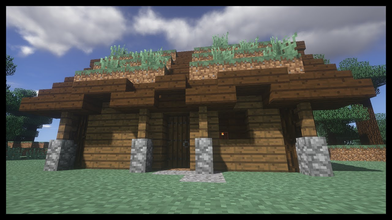 Minecraft Come Fare Una Casa Di Montagna 9x5 Youtube
