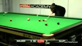 Ricky Walden 147 vs Gareth Allen