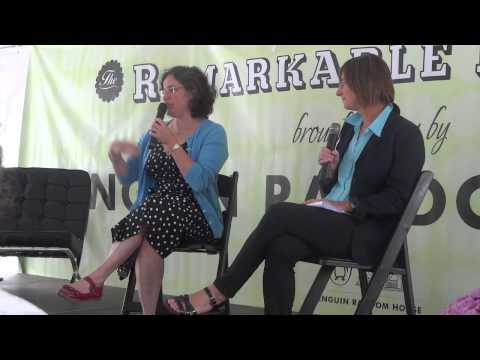 Elizabeth Wein Interviewed at Word on the Street Toronto (Part 1)