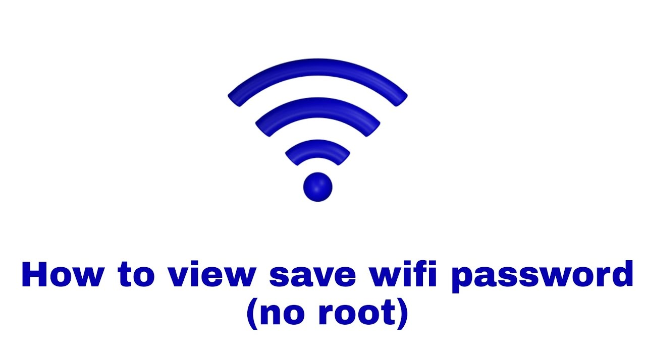 How To View Save Wifi Password In Android No Root Youtube