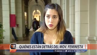 ¿Quiénes están detrás del movimiento feminista?