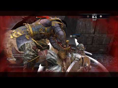 [For Honor] Buffed Centurion VS Turtle Warlord- Rep 12 Centurion Duels