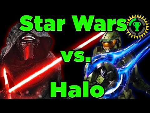 Thumbnail: Game Theory: Star Wars Lightsaber Vs Halo Energy Sword