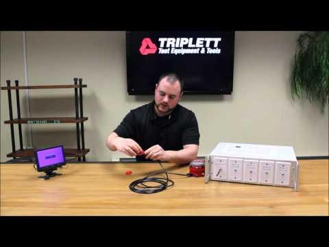 Triplett Test Equipment & Tools - LVPRO Video Test Module PN: VTM-KIT Demo Video