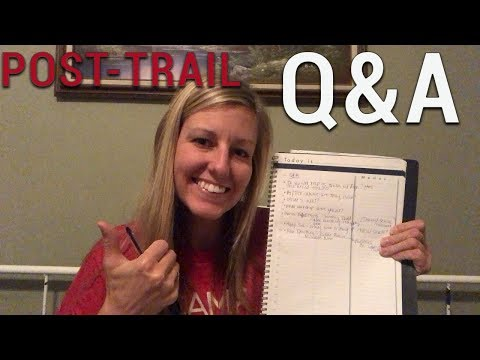 Q&A: making coffee on trail, staying in shape, future plans, meet and greet, etc.