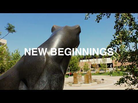 NEW BEGINNINGS -Welcome to Chapman University