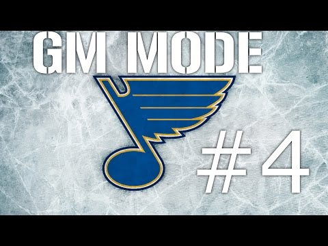 NHL 16 GM St Louis Blues Ep 4 -Offseason- Draft Day,Resigning Players/Free Agents