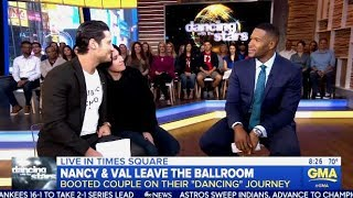 Video Nancy McKeon & Val's Sweet DWTS 27 Exit Interview (GMA) download MP3, 3GP, MP4, WEBM, AVI, FLV November 2018