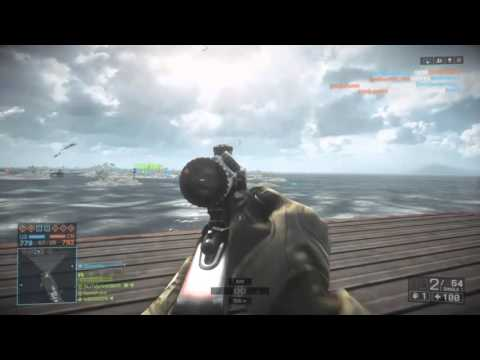 Battlefield 4 sniping long range