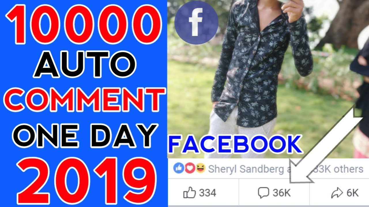 how to auto comment on facebook post 2019