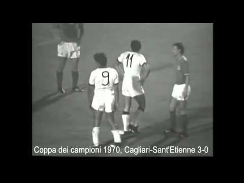 Cagliari - Sant'Etienne 3:0 - Coppa dei campioni '70/'71