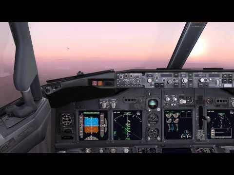 PMDG 737 flies Vatsim's Milk Run Fun Day 3rd March