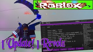 NEUE ROBLOX EXPLOIT! - REVOLZ [ LVL 6 LUA MIT SYNAPSE XEN, CUSTOM THEME AND MANY MORE! ]