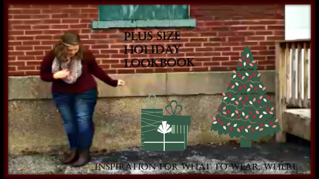Plus size holiday lookbook youtube