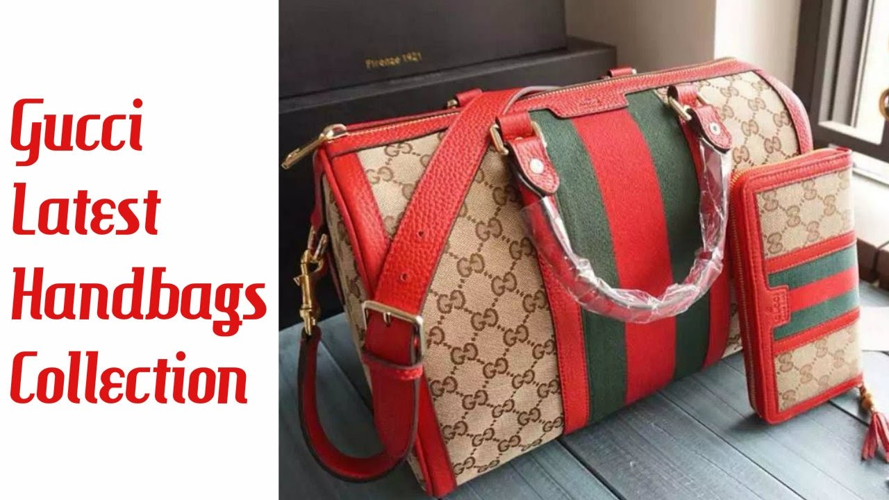 b233a93bc Gucci Latest Handbags Collection 2018 - YouTube