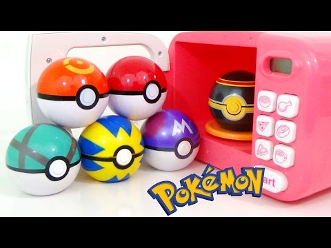Thumbnail: Learn Colors with POKEMON GO Play-Doh SLIME and MAGIC MICROWAVE Surprise Cooking Toys Playset | TUYC