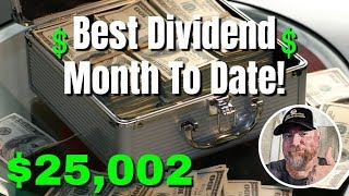 Most Dividends Paid in a Single Month | Dividends Paid in September 2019 | Passive Income