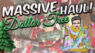 MASSIVE DOLLAR TREE HAUL | Lots of New Christmas Items | October 30, 2019