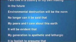 Lost Generation poem read at MCI 09 International Business Meeting