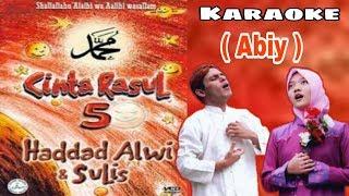 Download lagu Cinta Rasul Vol 5 - Haddad Alwi & Sulis ( Abiy ) KARAOKE