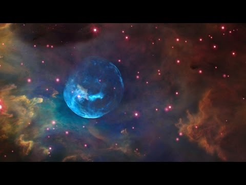 The Bubble Nebula: Winds & Radiation from a Massive Star [Ultra HD]
