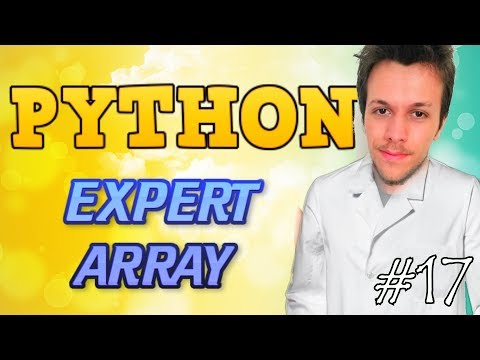 Python tutorial 2019 #17 EXPERT ARRAY FUNCTION thumbnail