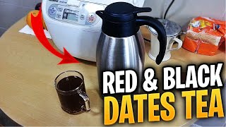 红&黑枣茶 Red & Black Dates Tea - Confinement Recipe